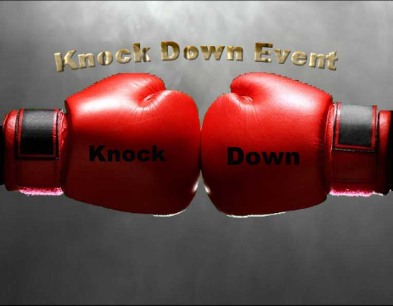 Knock Down Event